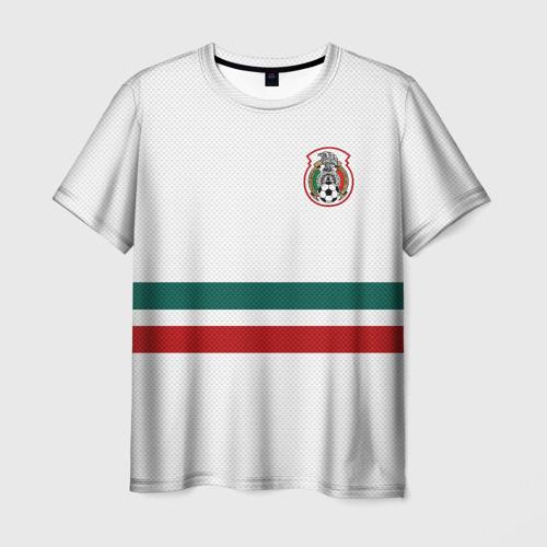 Мужская футболка 3D Гостевая форма Мексики