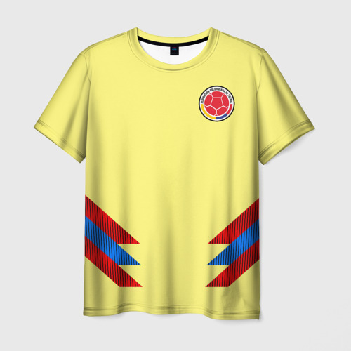 Мужская футболка 3D Форма Колумбии
