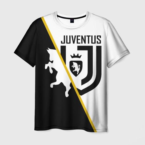 Мужская футболка 3D JUVENTUS.