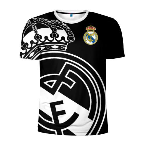 Мужская футболка 3D спортивная Real Madrid Exclusive