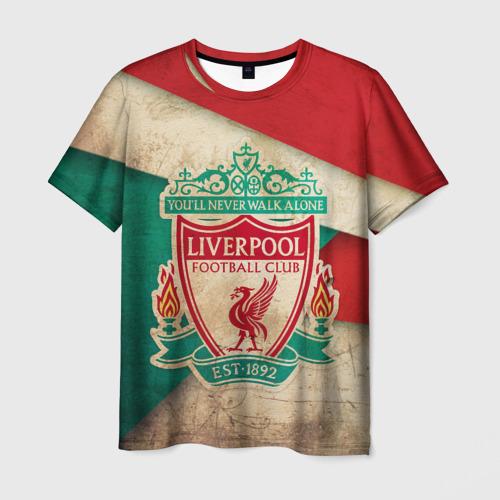 Мужская футболка 3D Ливерпуль олд