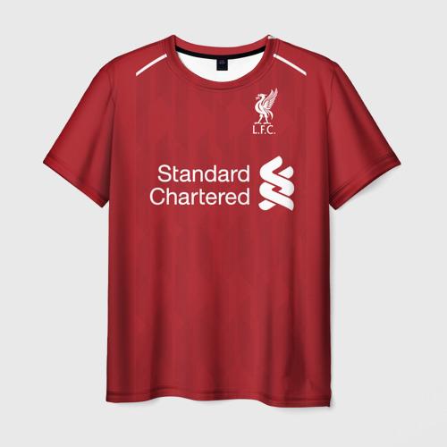 Мужская футболка 3D Liverpool home 18-19