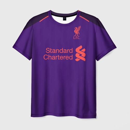 Мужская футболка 3D Liverpool away 18-19