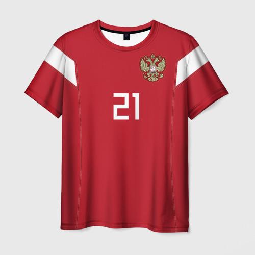 Мужская футболка 3D Ерохин ЧМ 2018
