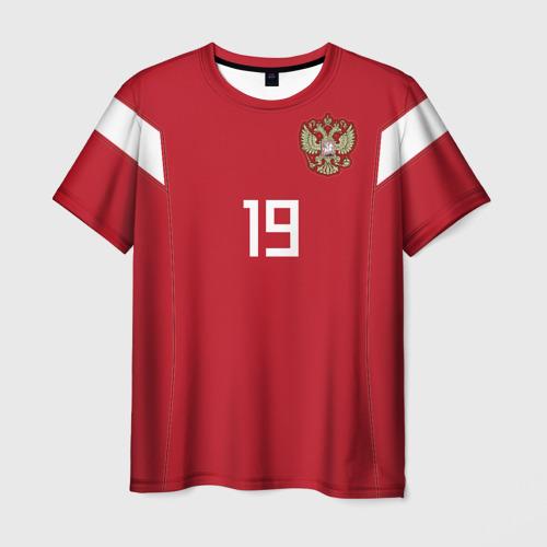 Мужская футболка 3D Кузяев ЧМ 2018