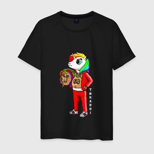 Мужская футболка хлопок Tekashi