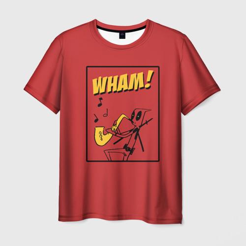 Мужская футболка 3D WHAM!