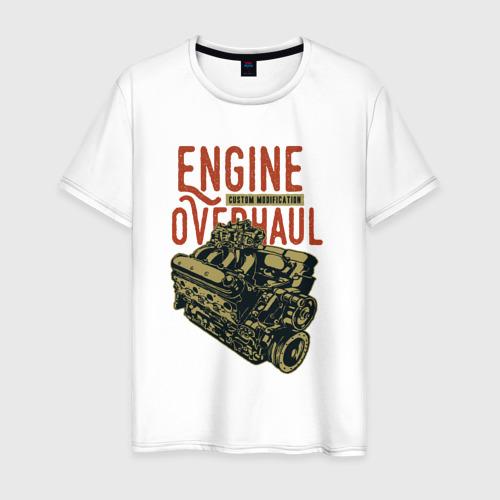 Мужская футболка хлопок Мотор