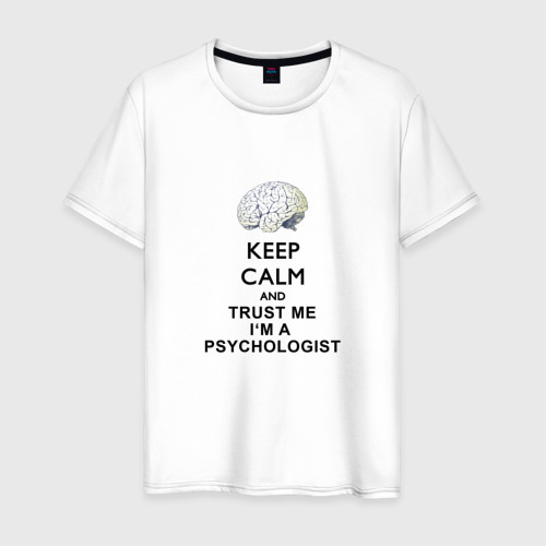 Мужская футболка хлопок Keep calm