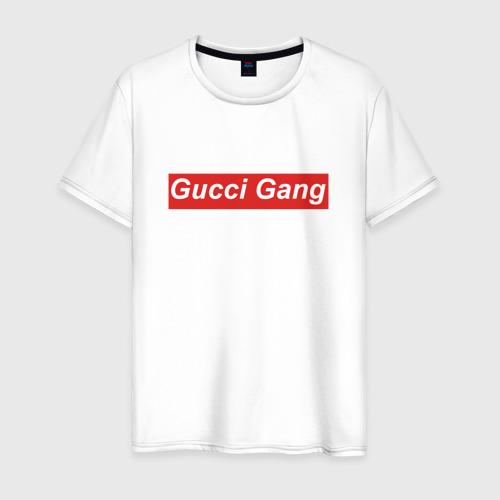 Мужская футболка хлопок GUCCI GANG