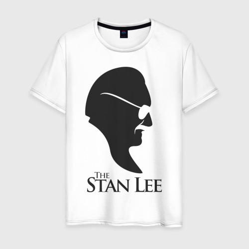 Мужская футболка хлопок Стэн Ли