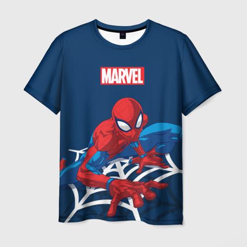 Мужская футболка 3D Spider Man