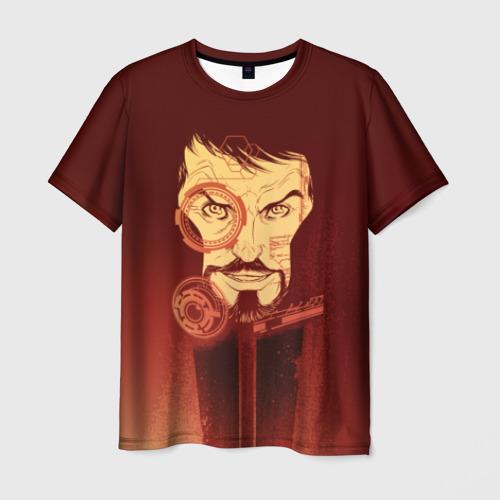 Мужская футболка 3D Tony Stark