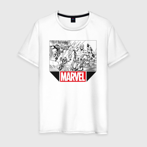 Мужская футболка хлопок AVENGERS