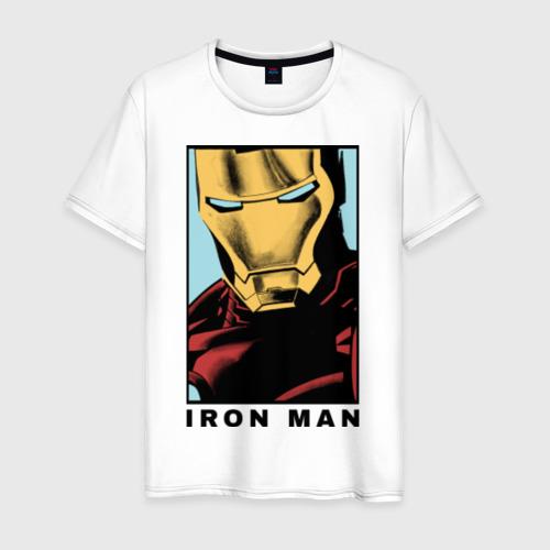 Мужская футболка хлопок Iron Man