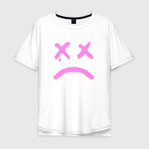 Мужская футболка хлопок Oversize LIL PEEP