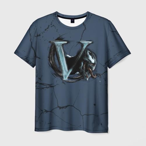 Мужская футболка 3D V-Venom