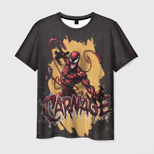 Мужская футболка 3D CARNAGE